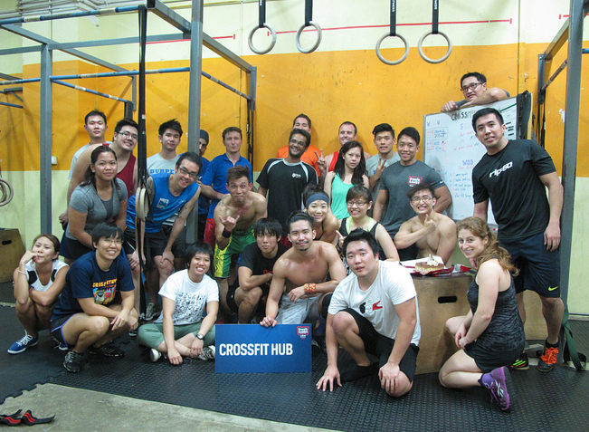 CrossFit is a personal journey [push your limits!]